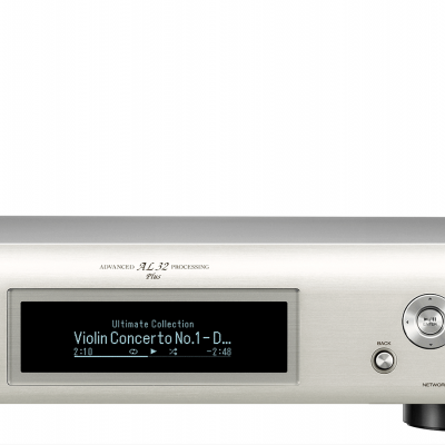DNP-800NE Silver streamer de Áudio com bluetooth e AIRPLAY 2 Denon