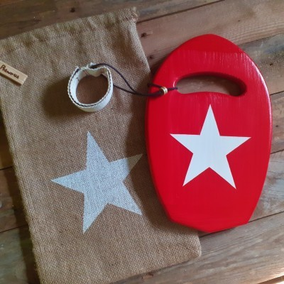 "Eco Handplane bodysurf ""Red diamond"""