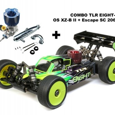 COMBO TLR Eight-X + OS XZ-B II + Escape OS T-2060SC