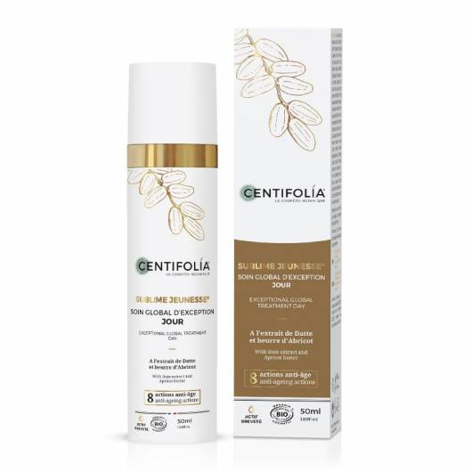 Creme de Dia Anti-Idade GLOBAL BIO CENTIFOLIA