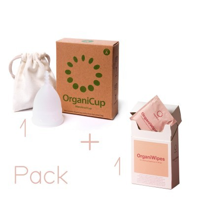 PACK - OrganiCup + OrganiWipes