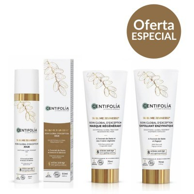 Centifolia - Coffret GLOBAL Anti-Idade BIO +OFERTA Exfoliante