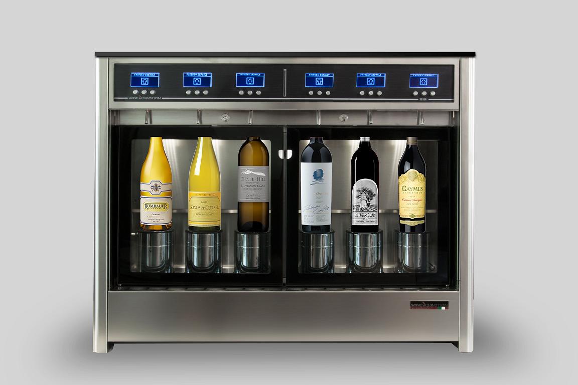 Dispensador de vinho Wineemotion Tre+3