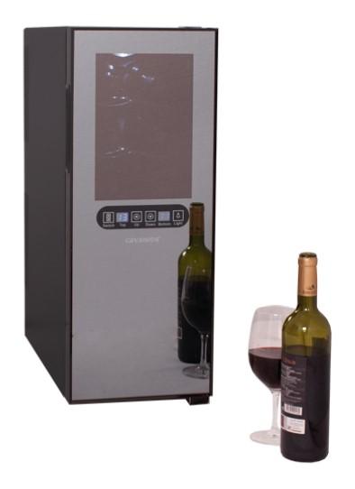 Conservador de Vinho para 12 Garrafas e 2 Temperaturas