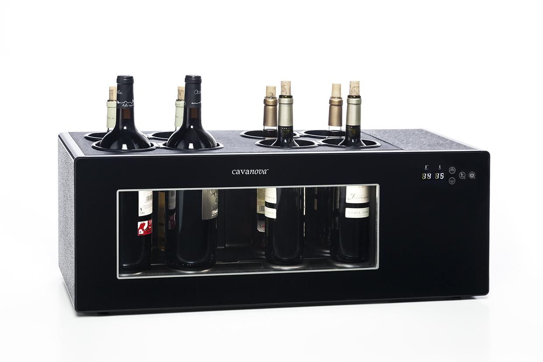 Open Wine de 8 garrafas com compressor
