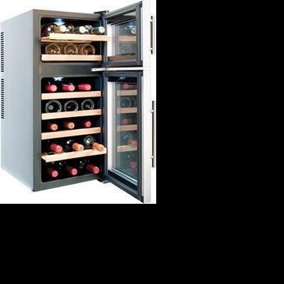 Conservador de Vinho para 21 Garrafas/ 2 Temperaturas