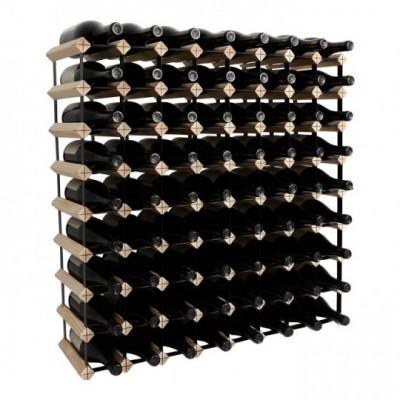 """Garrafeira """"Mensolas"""" para 72 garrafas"""