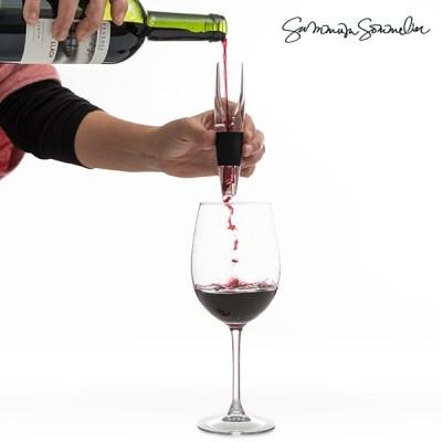 Arejador / Decantador de vinho portátil