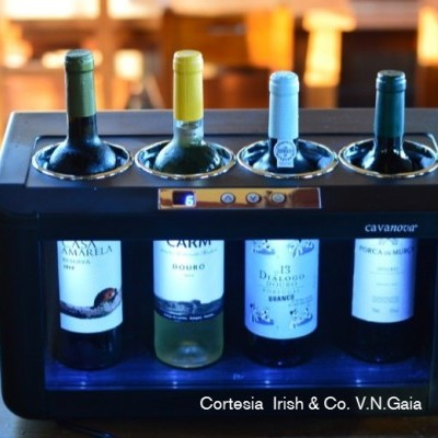 Refrigerador de Balcão Open Wine para 4 garrafas