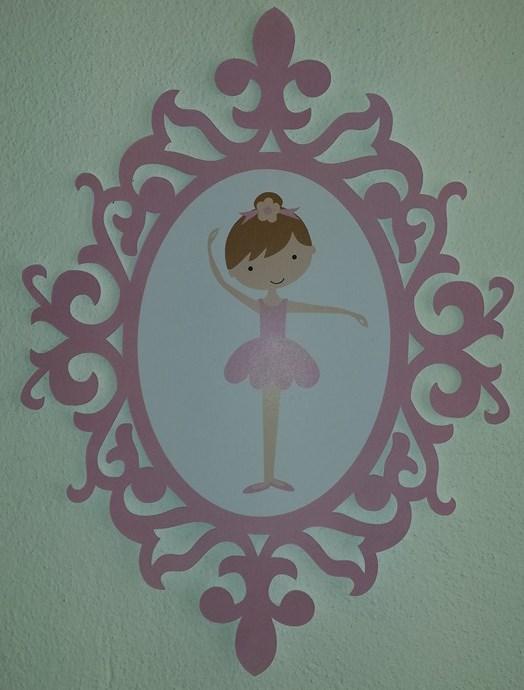 Moldura Bailarina