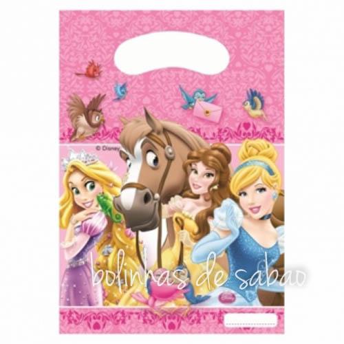Saquetas 6 unidades - Princesas