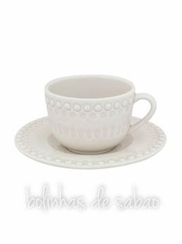 Chávenas de Chá - Cinza Areia