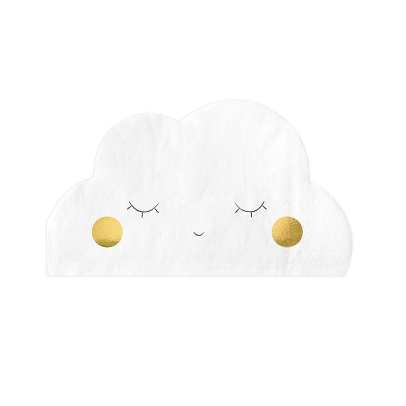 Guardanapos Nuvens