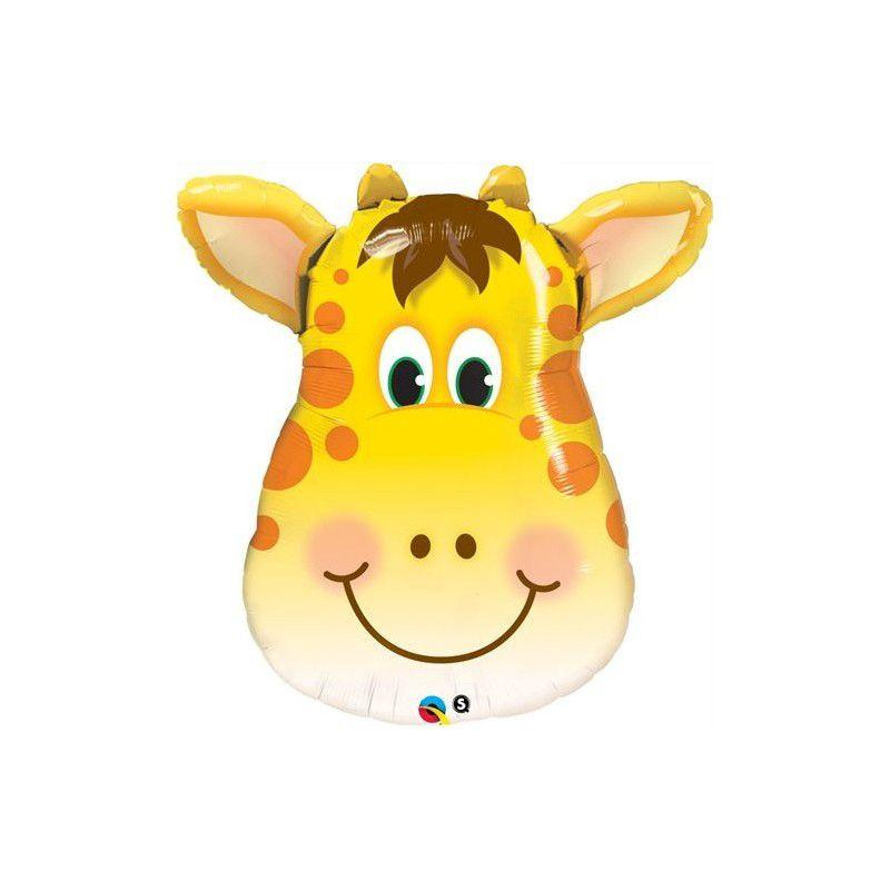 Balão Foil - Girafa - Selva