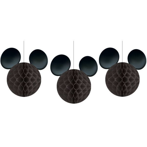 3 HoneyCombs de Papel Mickey