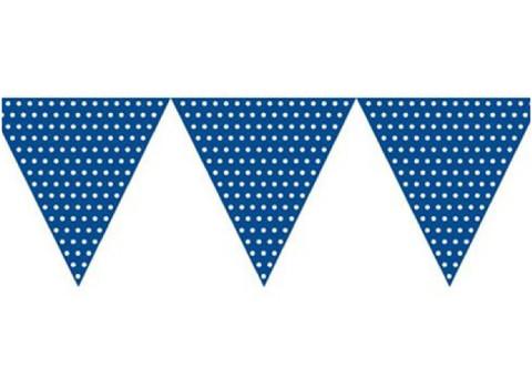 Bandeiras Bolas Azul Escuro