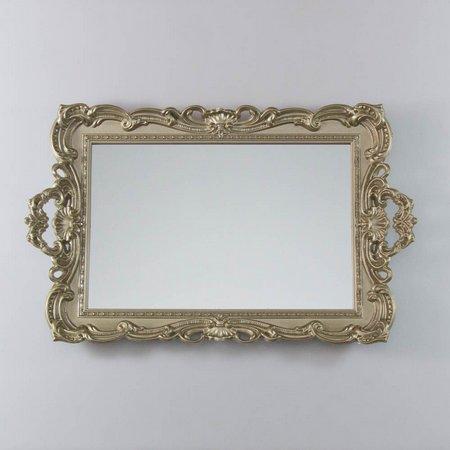 Bandeja Provençal Espelhada Dourada