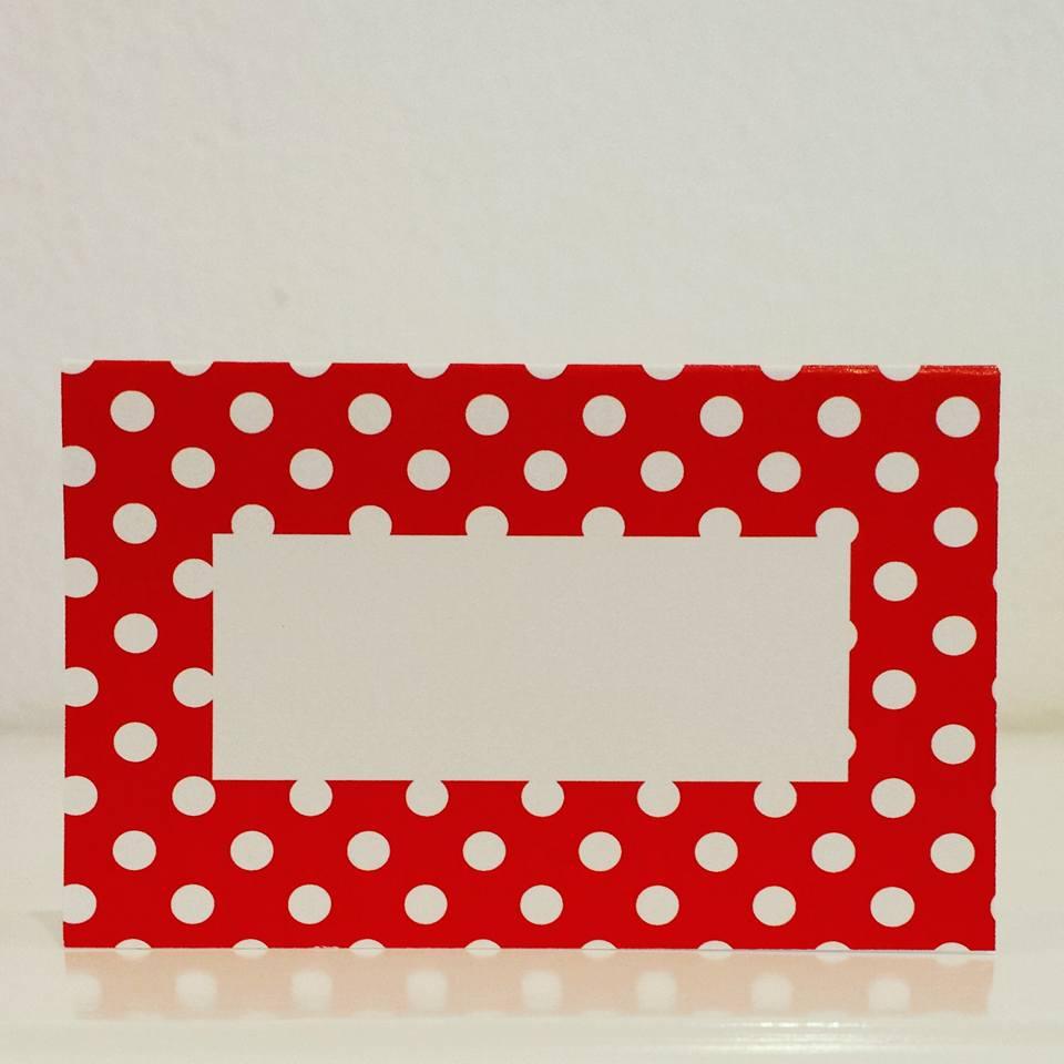 Marcadores Pintas 5 unidades - Vermelho