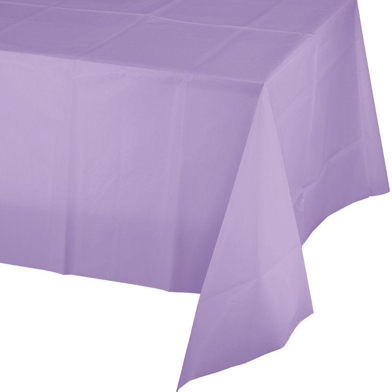 Toalha de Mesa Plástico - Lilás