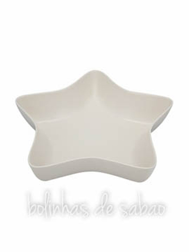 Taça Estrela 37 cm - Creme