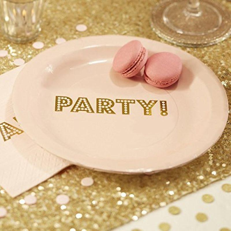 Pratos Party -23cm
