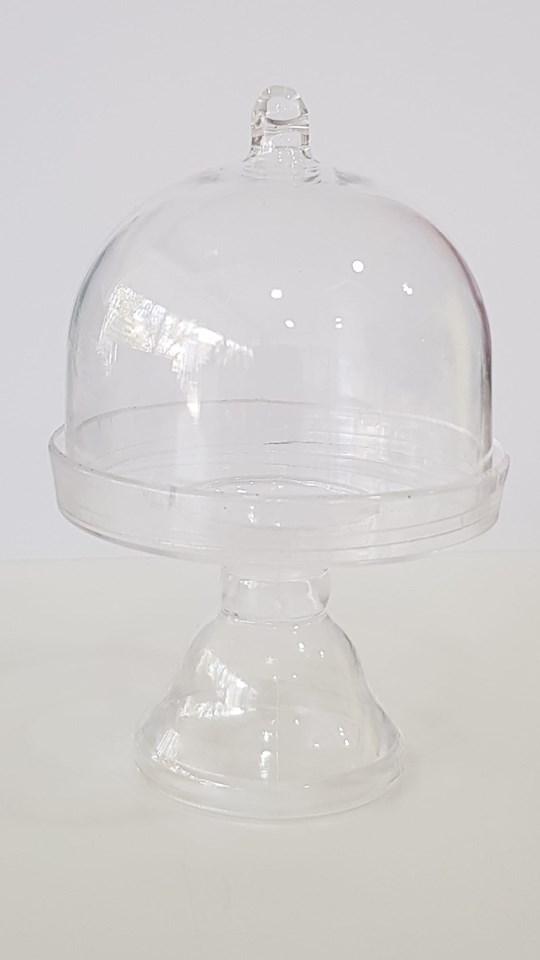 Cake Stand Pequeno Plástico - 11 cmx7cm