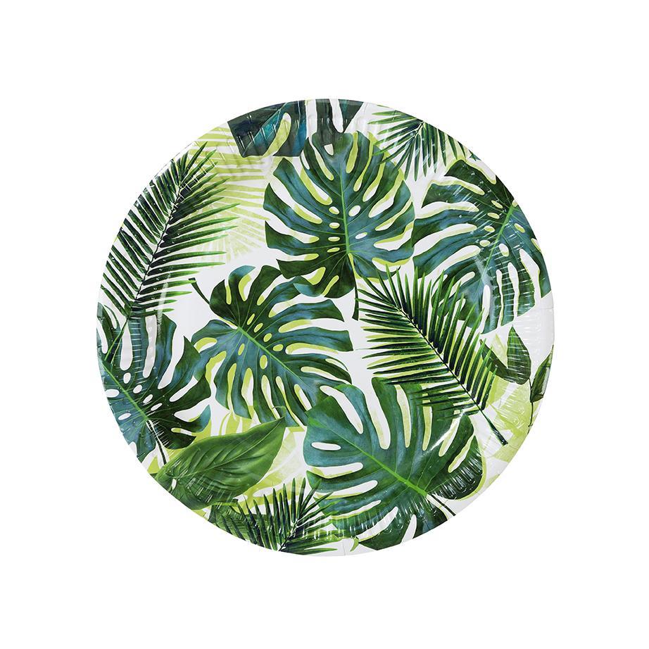 Pratos 23cm Tropical Fiesta - Folhas