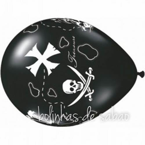 Balões 5 unidades - Pirata