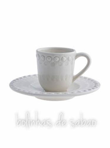 Chávenas de Café - Cinza Areia