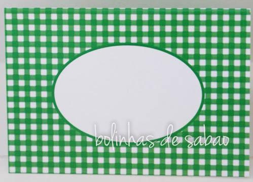 Marcadores Quadrados 5 unidades - Verde