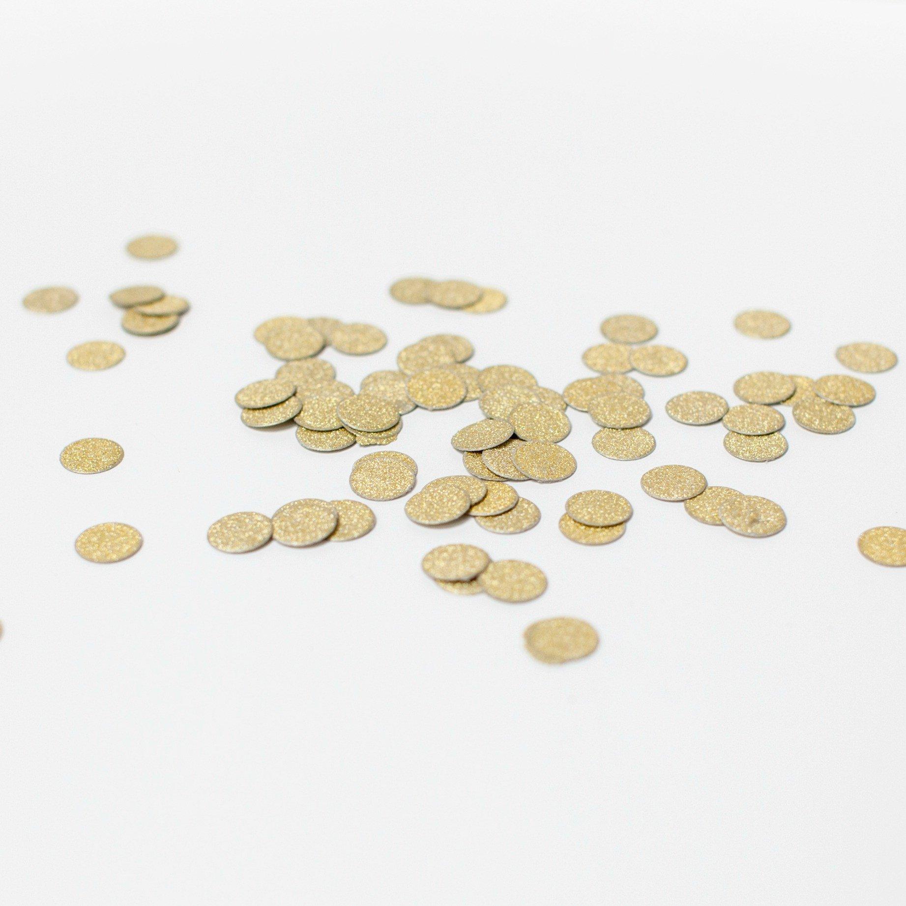 Confetis  Dourado Glitter