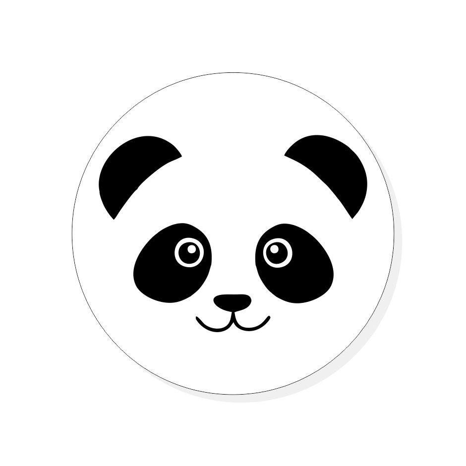Crachá Panda