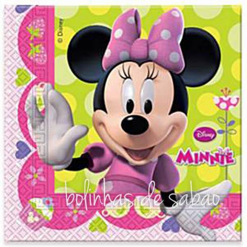Guardanapos Disney Minnie 33cm - 20 unidades