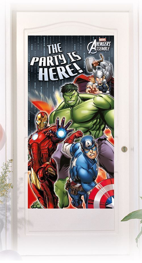 Painel de Porta Avengers