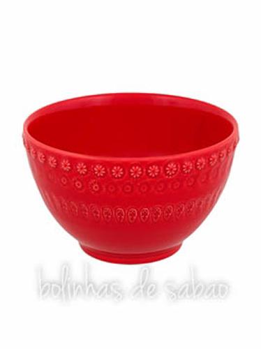 Tigela 12.5 cm - Vermelho