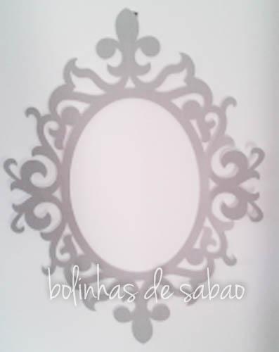 Molduras Lisas - Cinza