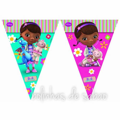Bandeiras Drª Brinquedos - Triângulos