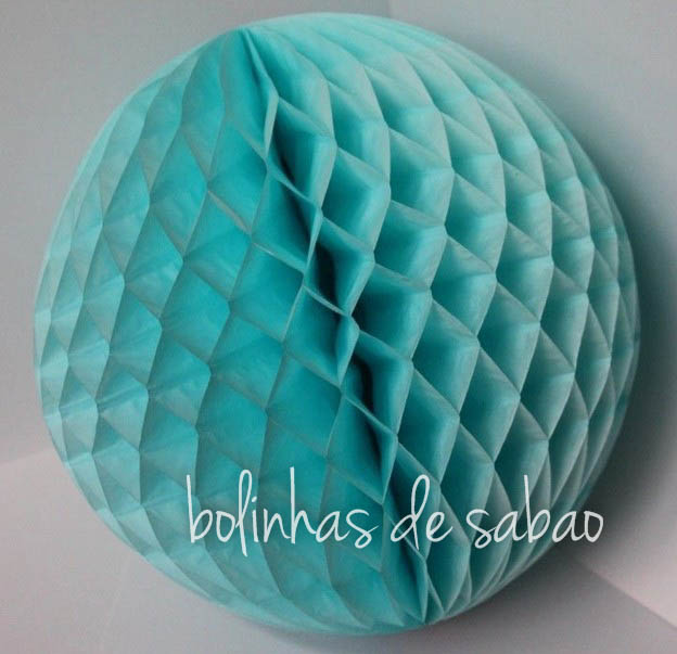 Honey Comb 25 cm - Azul Claro