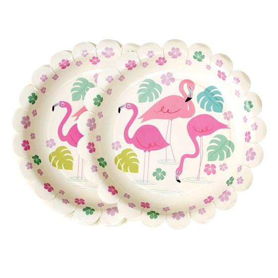 Pratos Flamingo - 18 cm