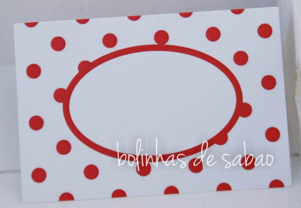 Marcadores Bolas 5 unidades - Vermelho