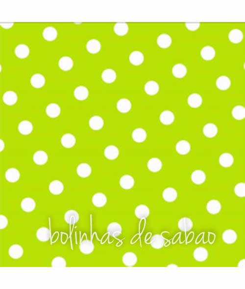 Guardanapos Pintas Verde Alface 25cm - 20 unidades