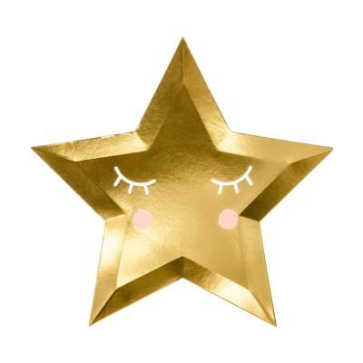 Pratos Estrelas Douradas