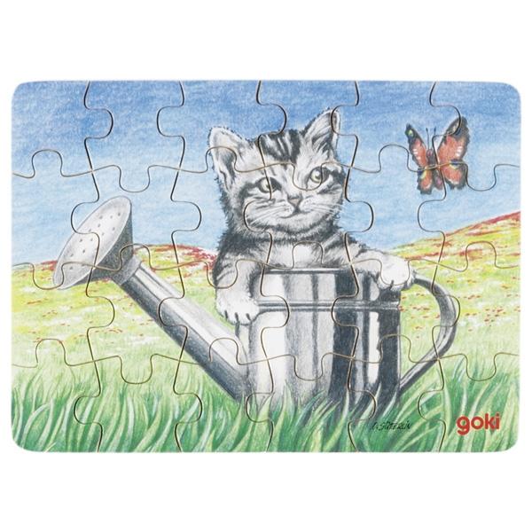 Minipuzzle de Peças Gato - Goki