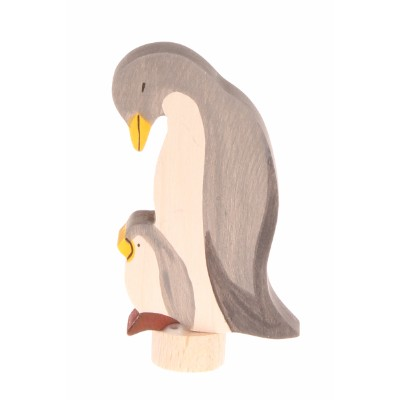 Figura Decorativa Pinguins, handcoloured - Grimm's