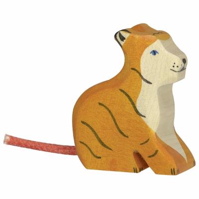 Tigre Bebé Sentado - Holztiger