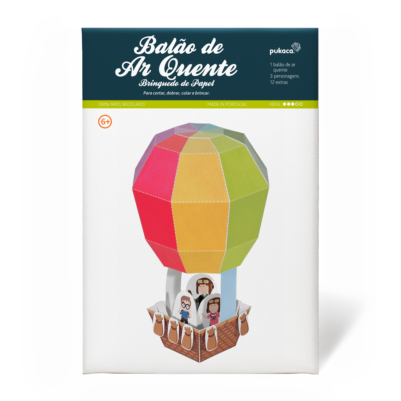 Balão de Ar Quente - Pukaca