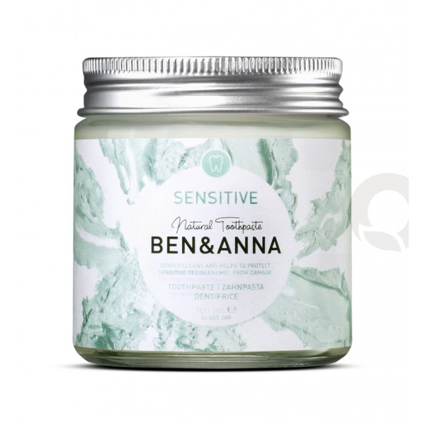 Dentífrico Natural Sensitive - Ben & Anna