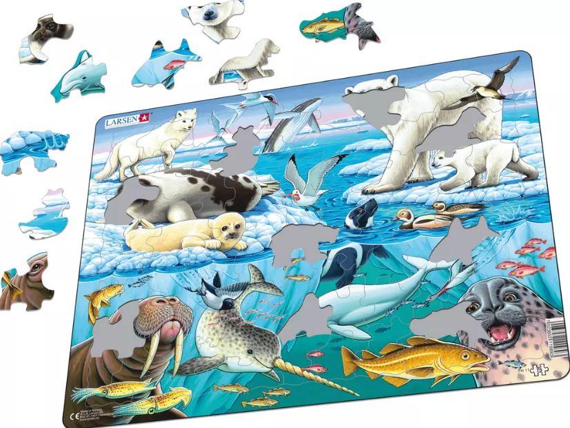 O Ártico Puzzle de Peças - Larsen