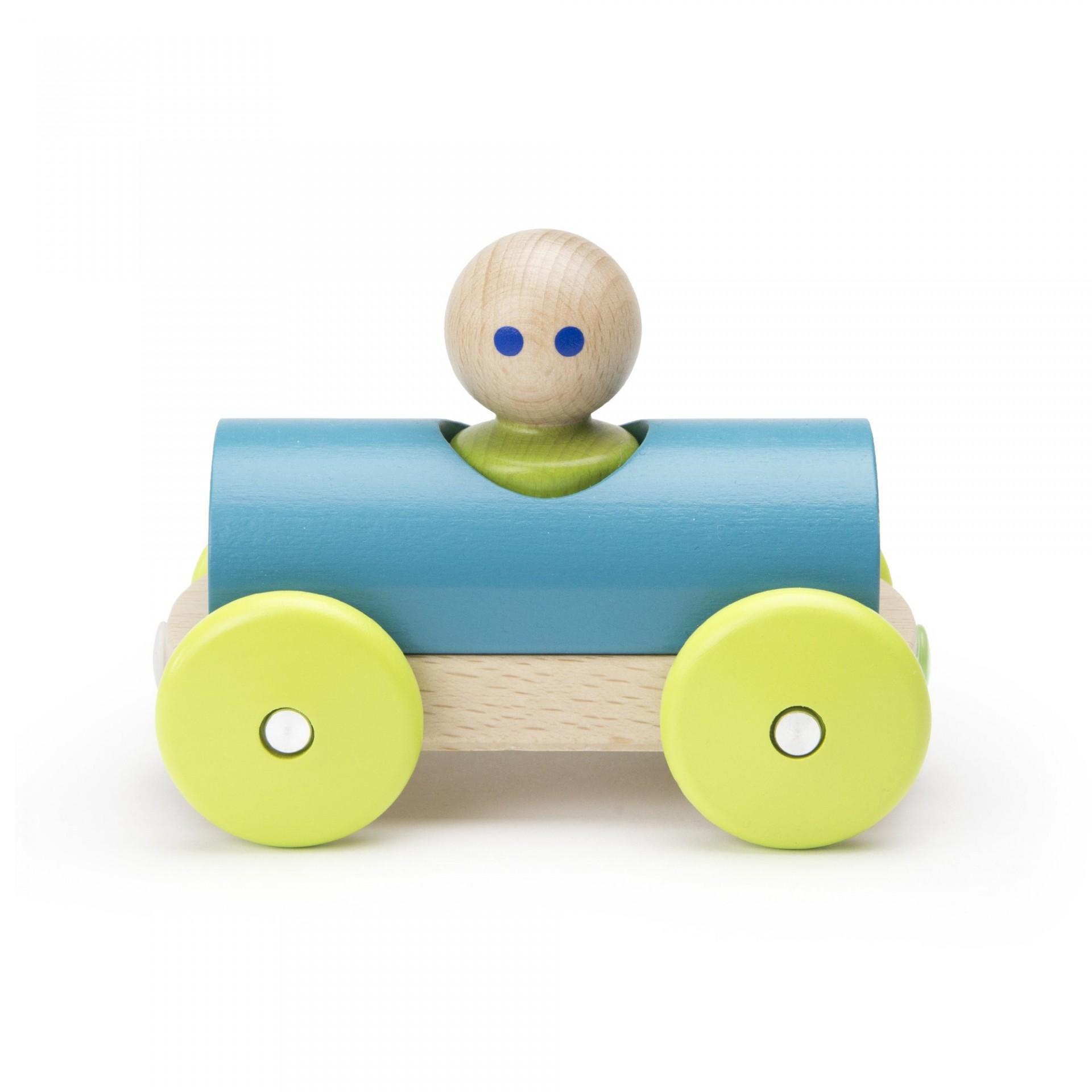Carro de Corrida Magnético Teal - Tegu