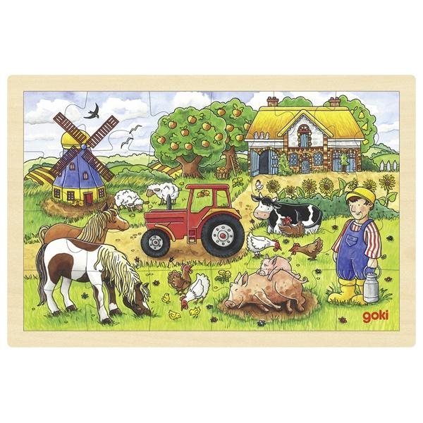 Puzzle de Peças Médio Quinta do Sr. Miller - Goki